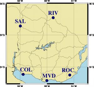 Mapa del localidades del AMTUes versión 2.3